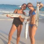 Vissen op zee in Mexico